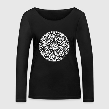 Om One Color - Women's Organic Longsleeve Shirt by Stanley & Stella