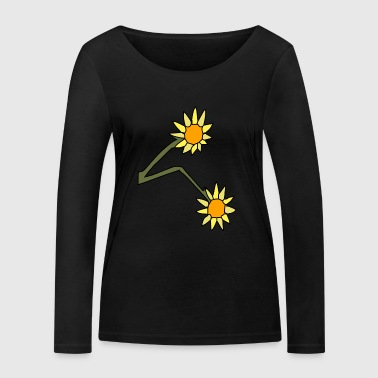 sunflower - Women's Organic Longsleeve Shirt by Stanley & Stella