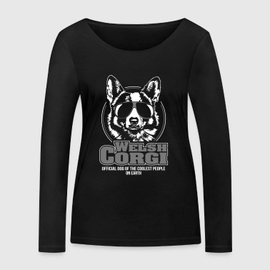 WELSH CORGI coolest people - Women's Organic Longsleeve Shirt by Stanley & Stella