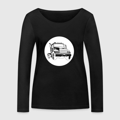 camions routiers - T-shirt manches longues bio Stanley & Stella Femme