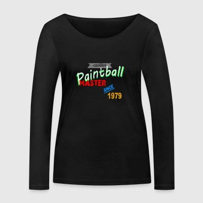 Paintball Master - Women's Organic Longsleeve Shirt by Stanley & Stella