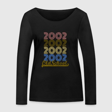 Old School 2002 - T-shirt manches longues bio Stanley & Stella Femme