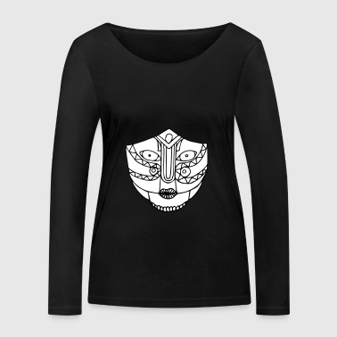 The look of the mask - Women's Organic Longsleeve Shirt by Stanley & Stella