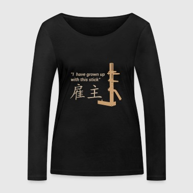 Wing Chun - Training - Women's Organic Longsleeve Shirt by Stanley & Stella