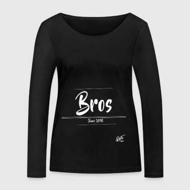 (BUT) Bros., SINCE 2016 - Women's Organic Longsleeve Shirt by Stanley & Stella