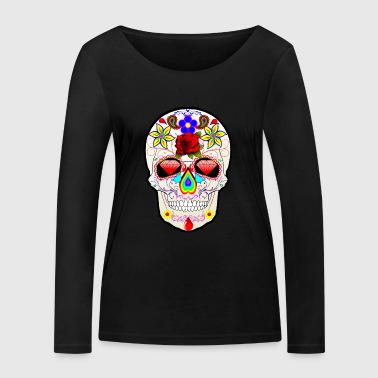 The Rock Skull - Women's Organic Longsleeve Shirt by Stanley & Stella