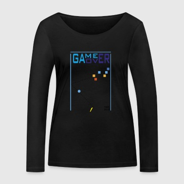game over - Women's Organic Longsleeve Shirt by Stanley & Stella