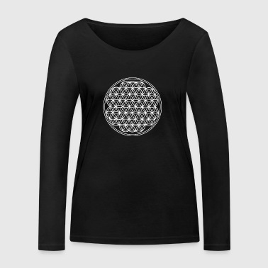 flower of life - Women's Organic Longsleeve Shirt by Stanley & Stella