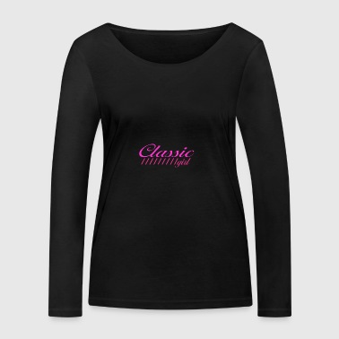 Classic Girl Pink - Women's Organic Longsleeve Shirt by Stanley & Stella
