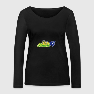 Up Brasil 14 - T-shirt manches longues bio Stanley & Stella Femme