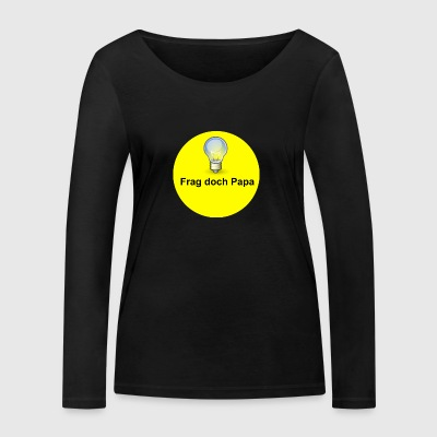 logo rond - T-shirt manches longues bio Stanley & Stella Femme