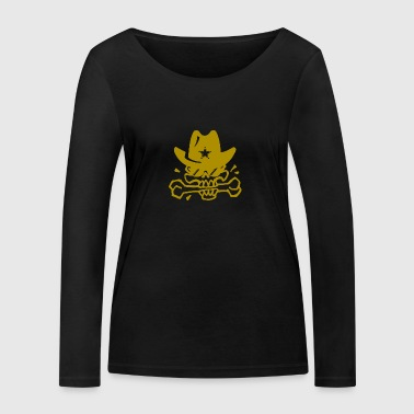 GOLD SKULL - T-shirt manches longues bio Stanley & Stella Femme