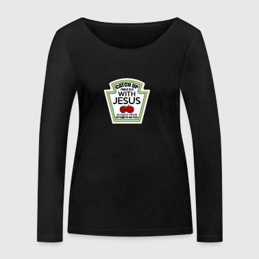 Catch up with Jesus - Women's Organic Longsleeve Shirt by Stanley & Stella