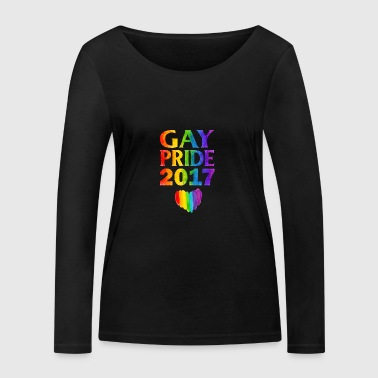 Gay pride 2017 - T-shirt manches longues bio Stanley & Stella Femme