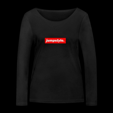 techno mixer red bass bpm jumpstyle - Women's Organic Longsleeve Shirt by Stanley & Stella