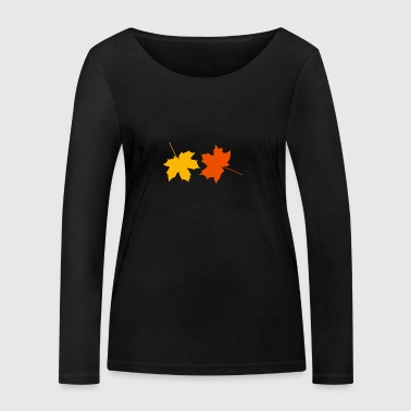 Autumn leaves - Women's Organic Longsleeve Shirt by Stanley & Stella