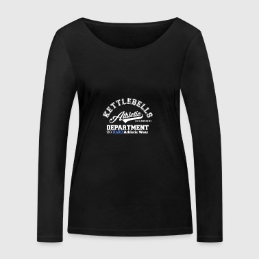 Kettlebell Athletic Department - Women's Organic Longsleeve Shirt by Stanley & Stella