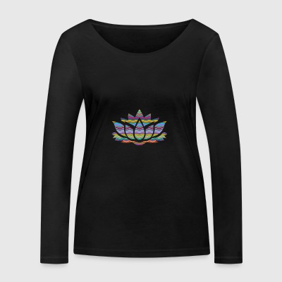 Power Flower - Women's Organic Longsleeve Shirt by Stanley & Stella