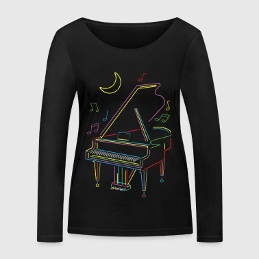 Bright Piano - Women's Organic Longsleeve Shirt by Stanley & Stella
