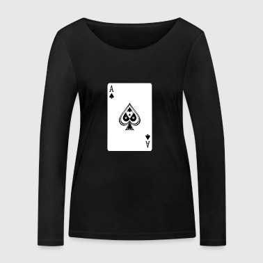 Ace Of Spades - Women's Organic Longsleeve Shirt by Stanley & Stella