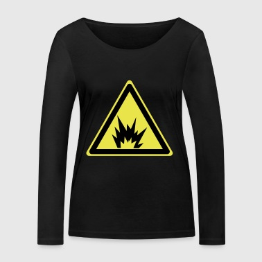 Attention Explosive - Women's Organic Longsleeve Shirt by Stanley & Stella