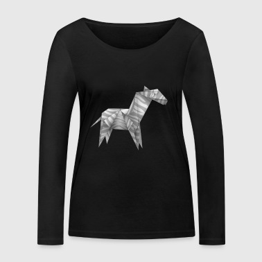 origami - T-shirt manches longues bio Stanley & Stella Femme