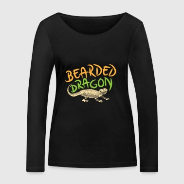 Shirt Bearded Dragon - T-shirt manches longues bio Stanley & Stella Femme