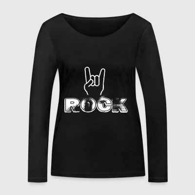 Rock N Roll - Women's Organic Longsleeve Shirt by Stanley & Stella
