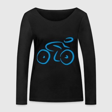 2541614 14906110 Bicycle - Women's Organic Longsleeve Shirt by Stanley & Stella