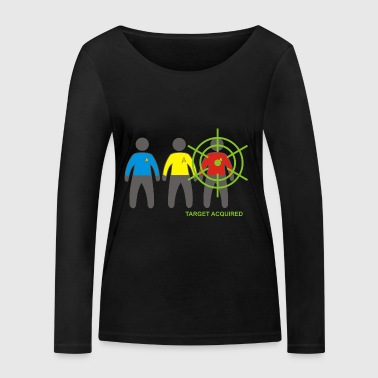 Target Acquired - Women's Organic Longsleeve Shirt by Stanley & Stella
