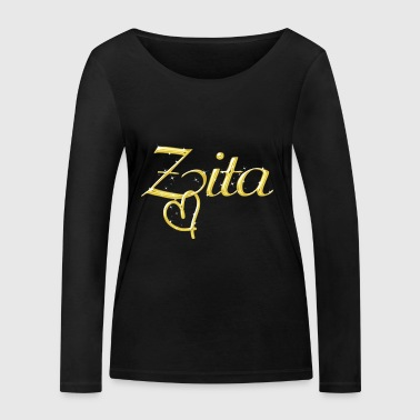 Zita name first name women - Women's Organic Longsleeve Shirt by Stanley & Stella
