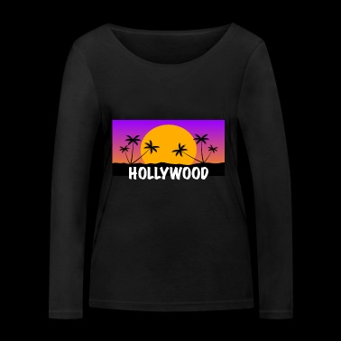 HOLLYWOOD Shirt - Women's Organic Longsleeve Shirt by Stanley & Stella