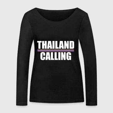 THAILAND CALLING - Women's Organic Longsleeve Shirt by Stanley & Stella