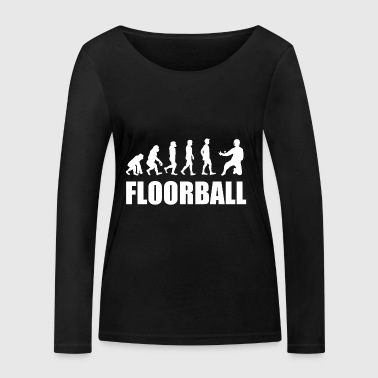 Floorball goalkeeper - Women's Organic Longsleeve Shirt by Stanley & Stella