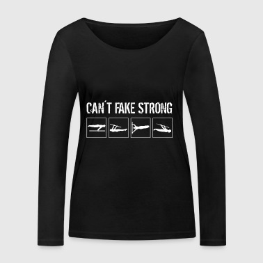 Can not fake forte - T-shirt manches longues bio Stanley & Stella Femme