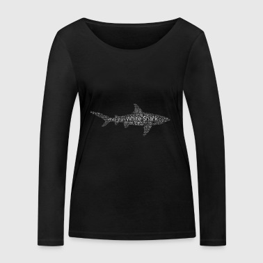 Grand requin blanc - T-shirt manches longues bio Stanley & Stella Femme