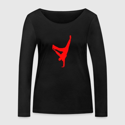 break dance - T-shirt manches longues bio Stanley & Stella Femme