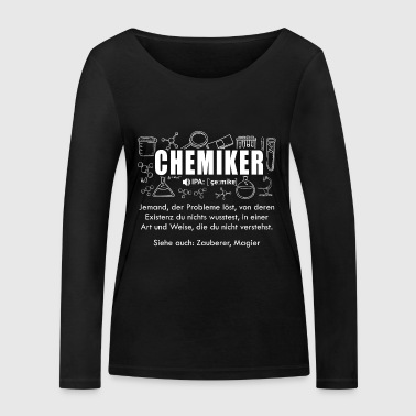 chemist Dictionary - Women's Organic Longsleeve Shirt by Stanley & Stella