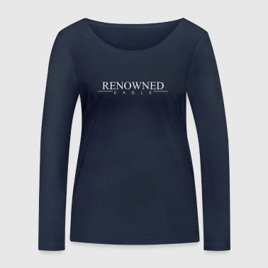 Renowned Eagle Long-sleeve Navy - Women's Organic Longsleeve Shirt by Stanley & Stella
