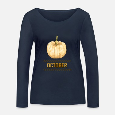 October october - Women's Organic Longsleeve Shirt