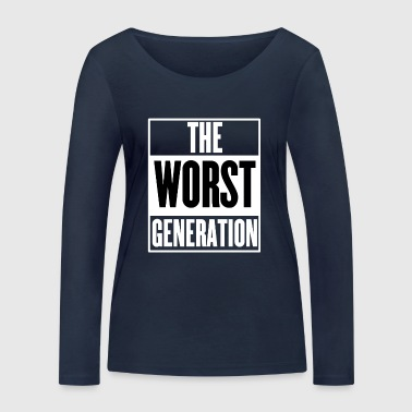 Worst The Worst Generation - Women's Organic Longsleeve Shirt by Stanley & Stella
