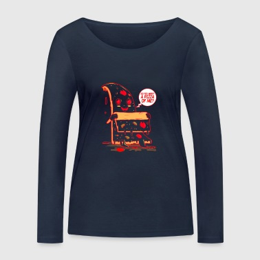 Do You Want A Pizza Of Me? - Frauen Bio-Langarmshirt von Stanley & Stella