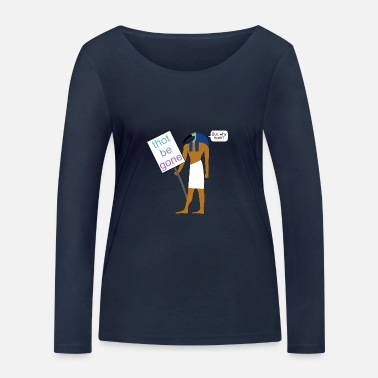 Demo Thoth at a demo - Women's Organic Longsleeve Shirt by Stanley & Stella