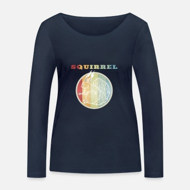 Squirrel Squirrel squirrel - Women's Organic Longsleeve Shirt by Stanley & Stella