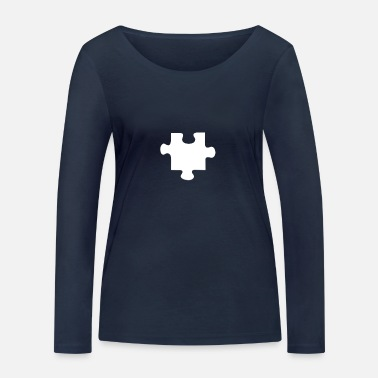 Piece Piece of the Puzzle - Women's Organic Longsleeve Shirt by Stanley & Stella