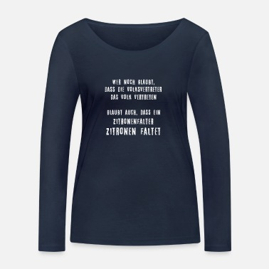 Government People's Government - Women's Organic Longsleeve Shirt by Stanley & Stella