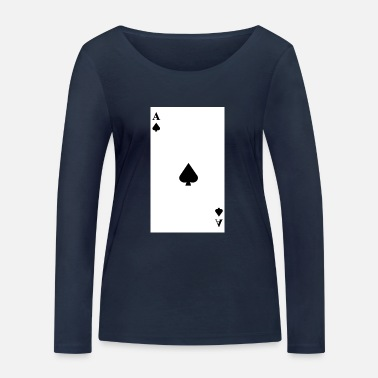Ace Of Spades Ace of Spades - Women's Organic Longsleeve Shirt by Stanley & Stella