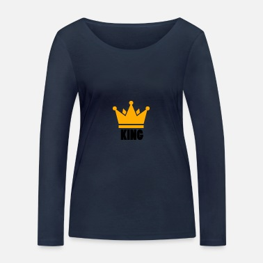 crown - Women's Organic Longsleeve Shirt