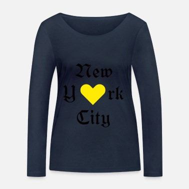 New York City New York City, New York City, York, New York, City, - Women's Organic Longsleeve Shirt by Stanley & Stella