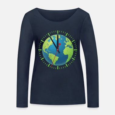 For Fridays For Future 5 to 12 - Frauen Bio Langarmshirt